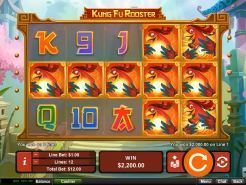 Kung Fu Rooster Slots